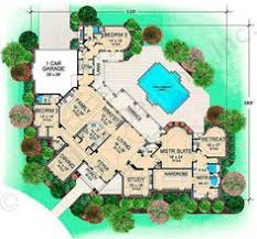 U Shaped House Plans With Pool In Middle U Shaped House Plans On Home With Unique Floor Plan Pool In Middle
