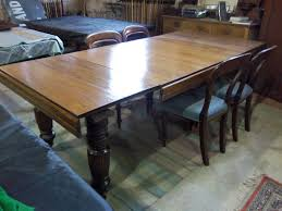kitchen table oak kitchen tables with hidden leaves antique oak dining table