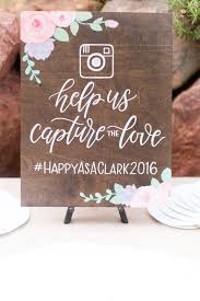 wedding quotes hashtags hashtag social media help us capture the rustic wooden