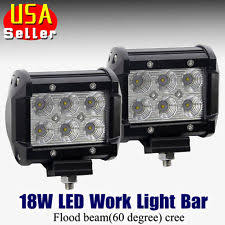 Led Work Light Bar by 18w Led Work Light Ebay