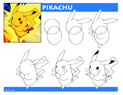 how to draw pikachu pokemon r k mcguire