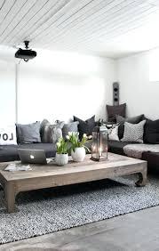 deco cuisine gris et blanc deco salon gris idee foncac canapac graphite idees