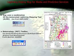 blm lightning map geospatial decision support tools a geographic area coordination