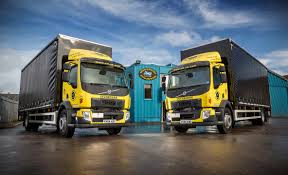 volvo freight trucks first volvo fl 18t gvw rigids join caledonian logistics fleet