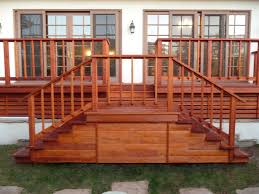 redwood deck posts kimberly porch and garden ideas redwood