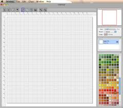 cross stitch pattern design software lucykate crafts cross stitch a review of mac based design