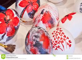 blown easter eggs painted easter eggs stock photo image 30023490