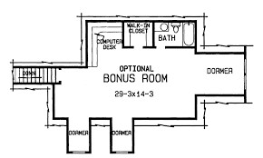 thehousedesigners the cole 4375 4 bedrooms and 3 baths the house designers