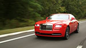 roll royce red rolls royce wraith fire the chauffeur and drive it yourself money