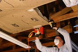 Insulation For Ceilings by How To Install Kraft Faced Fiberglass Insulation In A Garage