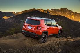 jeep renegade interior orange 2017 jeep grand cherokee renegade trailhawk u0026 concept drives