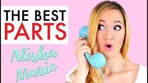 alisha marie the best parts youtube