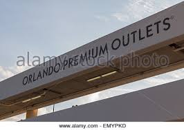 black friday orlando premium outlets orlando premium outlets sign orlando florida usa stock photo