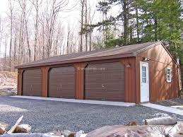 3 door garage 3 car garages amish mike amish sheds amish barns sheds nj