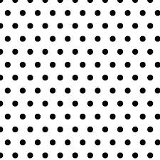 classic black white polka dot geometric chic shelf paper