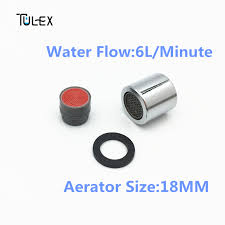 Parts Of A Faucet Aerator Tulex Faucet Aerator 18mm Female Thread Water Saving 6l Min Spout