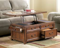 Trunk Style Coffee Table Lift Top Trunk Style Coffee Table With Storage Drawers Oak