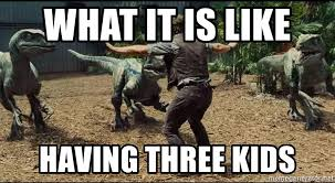Meme Generator Raptor - what it is like having three kids raptor kids meme generator