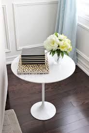 small living room end tables different ways to style an end table
