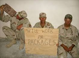 how to ship a care package to a soldier overseas smiley