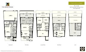 100 benchmark homes floor plans milltown village by