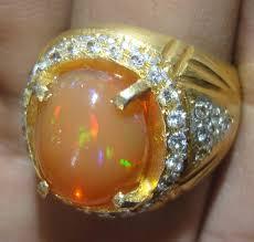 Opal Teh black opal banten gemstone black opal gemstone