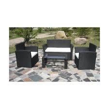 canapé d extérieur pas cher canape de jardin en resine tressee pas cher promotion mobilier de