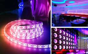 music led strip lights amazon has a 13 led light strip that flashes in sync with your