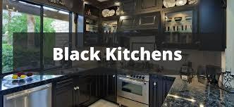 black and kitchen ideas 20 sleek black kitchen ideas for 2017