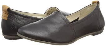 Wide Comfortable Dress Shoes Fly London Fly London Fent Women U0027s Ballet Flats Black Black Tan
