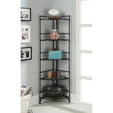 Redford White Corner Bookcase by Bookshelf Glamorous Cabinet Bookshelf Enchanting Cabinet