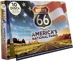 Historic Route 66 Map by Amazon Com Route 66 America U0027s National Parks None Movies U0026 Tv