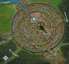 Blank Fantasy Map Generator by Medieval Town Layout Generator Olivia