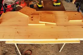 Desk With Top Shelf How To Build A Contemporary Desk With Shelf And Hairpin Legs