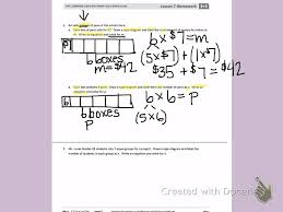 grade 3 mathematics engage ny third grade module 3 lesson 7 back