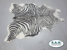 Black Light Rug Amazon Com Saddleman U0027s Stenciled Cowhides Zebra Black Light Beige