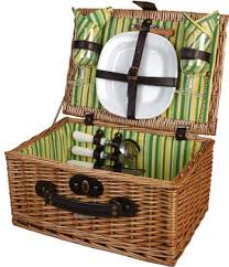 picnic basket set for 2 picnic baskets picnic backpacks gifts from picnic world