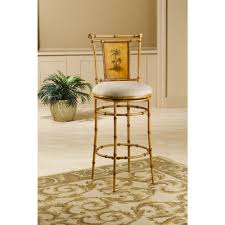 Swivel Counter Stools With Back Hillsdale Furniture West Palm 30 In Burnished Brown Swivel