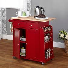 kitchen island cart counter pantry wheel cabinet buffet storage