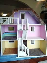 Doll House Plans Barbie Mansion by 3 Story Custom Made Wood Barbie Doll House Wooden Dream Dollhouse