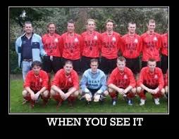 Funny Memes Soccer - you see it adult soccer