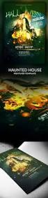 green halloween party flyer template halloween flyer templates