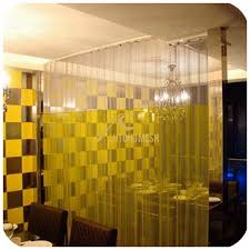 Curtain Wire Room Divider Metal Coil Drapery Room Divider Curtain