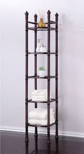 Bathroom Tower Shelves Bathroom Tower Shelves Techieblogie Info