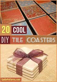 Cool Coasters 20 Cool Diy Tile Coasters Guide Patterns