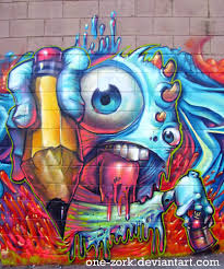 Chicano Park Murals Targeted As Revenge by Melted Boi Graffiti Character By One Zork On Deviantart