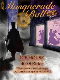 masquerade ball in indianapolis at irvington ice house