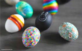 Decorating Easter Eggs With Beads by 5 Alternative Easter Egg Ideas U2022 Craftwhack