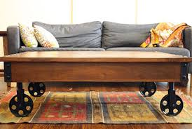 Industrial Cart Coffee Table Blog 5 Home Uses For An Industrial Cart