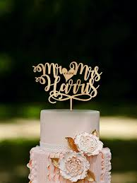 mr and mr cake topper personalized name wedding cake toppers designing inspiration